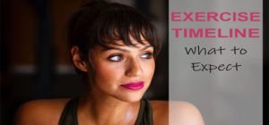 Exercise Timeline - What to Expect When You Start Working Out