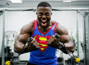 Gym superhero