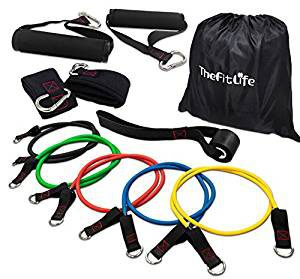 exercise and Resistance Bands Set