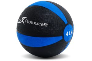 ProsourceFit rubber medicine ball