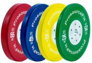 Training bumper plates